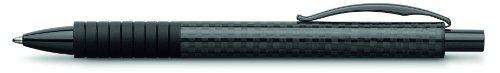 Faber-Castell 148888 - Kugelschreiber BASIC BLACK Carbon, Mine: B, Schaftfarbe: schwarz