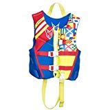 HO Sports 2019 Child Pursuit Neo Ski Wakeboard Wakesurf Vest Jacket Blue/Red/Yellow