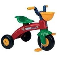 INJUSA - Triciclo Trico para niños de 1 a 3 años con cesta delantera, rojo