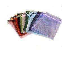 Cliquez Duvet 100 couleurs variées en organza Bijoux pochette sacs affichage 13 * * * * * * * * 18 cm