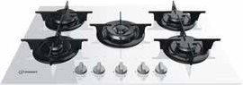 Indesit PR 752 W/I(WH) Incasso Piano cottura a gas Bianco piano cottura