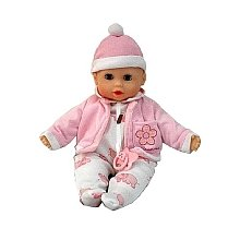 Dimian - Bambolina, muñeca color rosa y blanco (Claudio Reig BD310ES)