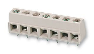 TERMINAL BLOCK, WIRE TO BRD, 4POS, 16AWG 282836-4 By TE CONNECTIVITY / BUCHANAN