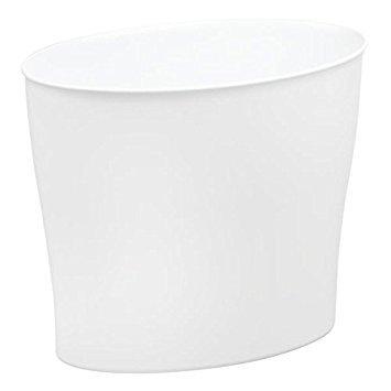 MDesign Cubo Basura plástico Resistente - Compacto