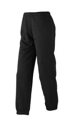 Junior Jogging Pants Jogginghose, Farbe: Schwarz,Größe: XL - 146-152