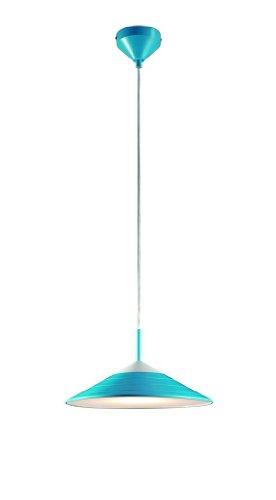 LED Pendelleuchte Pendellampe in blau, SMD-LED 12W 960 lumen 3000K, inkl. Leuchtmittel, durschmesser:32 cm Abhängung max.:150 cm R32031212