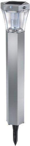 brennenstuhl-1170790-balise-de-jardin-led-solaire-sol-fl-13007-aluminium-plastique-argente