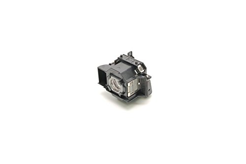 Alda PQ® Premium, Lampada proiettore compatibile con EPSON EMP-S3, EMP-S3L, EMP-TW20, EMP-TW20H, EMP-TWD1, EMP-TWD3 proiettori, Alda PQ® lampada con custodia