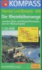 Die Rheinhöhenwege zwischen Bonn und Mainz 1 : 50 000.