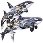 Sunsout 95152 - Orcas, 1000 Teile
