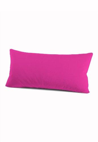 Schlafgut 035-576 Mako Jersey Kissenbezug/40 x 80 cm, pink