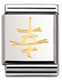 Nomination Composable Damen-Bead Big Symb. China Gluck 032117/05