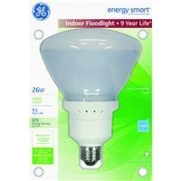 GE LIGHTING 21738 26-watt Energy Smart R40 CFL dimmbar Licht Birne Flutlicht Fluter, 1er Pack von GE Lighting (Cfl Energy Smart)