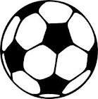 Partyrama - Pelota de fútbol hinchable 40 cm