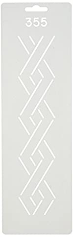 Quilting Creations Border Design Quilt Stencil, 2 by Quilting Creations