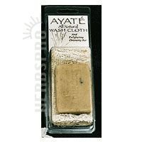 Thai Deodorant Stone Ayate All Natural Wash Cloth With Cleansing Bar - 1 Bar pack of - 1 by Thai Deodorant Stone