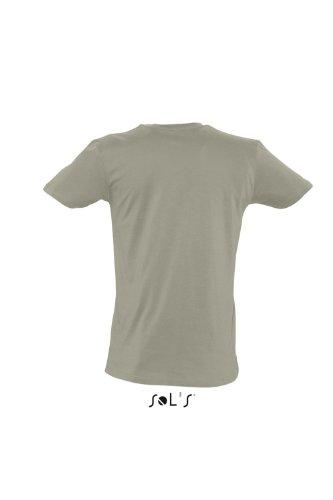 Sols Short Sleeve Tee Shirt Master Khaki