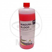 MAGURA BLOOD 1000 ML FLASCHE - 730.07.83 - Hydrauliköl - Magura-Blood, biologisch abbaubares, hochwertiges Öl auf Mineralölbasis. - -