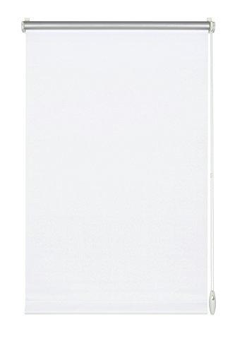 GARDINIA Thermo-Rollo mit Thermo-Rückseite zum Klemmen oder Kleben, Höchste Lichtreflektion, Energiesparend, Lichtundurchlässig, Alle Montage-Teile inklusive, EASYFIX Rollo Thermo, Weiß, 90 x 210 cm (BxH) (24 Aluminium-jalousie)