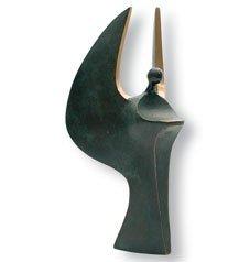 Bronzeskulptur Großer Engel von Luise (Religiöse Kostüme Kinder)