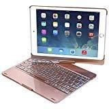 NOVT Keyboard Case Compatible with Apple iPad 2018 (6th Gen) - iPad 2017
