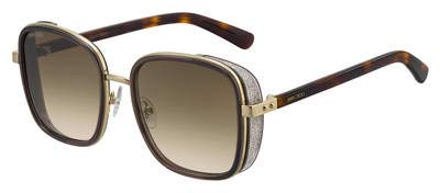 Jimmy Choo Sonnenbrillen ELVA/S Havana/Brown Shaded Damenbrillen
