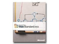 SV MS Visio Standard 2003 CD W32