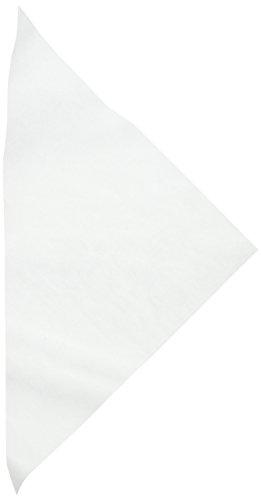 PME PP101 Pergament-Dreiecke, 50 Stück, Kunststoff, White, cm, 48 x 0.1 x 28 cm, 50 Einheiten (Pergament Dreiecke)