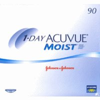 1-Day Acuvue MOIST Tageslinsen, 90 Stück / BC: 8.5 mm / DIA: 14.2 / -3,00 Dioptrien -