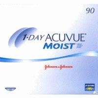 1-Day Acuvue MOIST Tageslinsen, 90 Stück / BC: 8.5 mm / DIA: 14.2 / -3,00 Dioptrien
