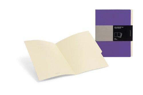 Moleskine Purple Folio Professional Filers: Set of 3 Folders