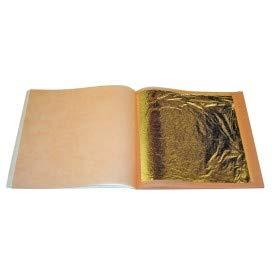 Blattgold 70 x 70 mm, 24 Karat, 500 Stuck
