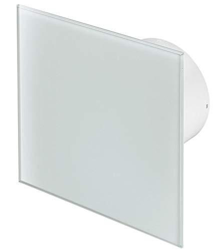 100mm Standard Dunstabzugshaube Weißes Glas Frontblende TRAX Wand Decke Belüftung
