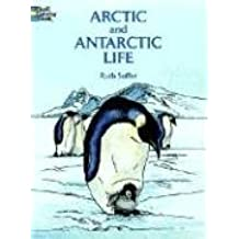 Arctic and Antarctic Life Coloring Book (Dover Nature Coloring Book)