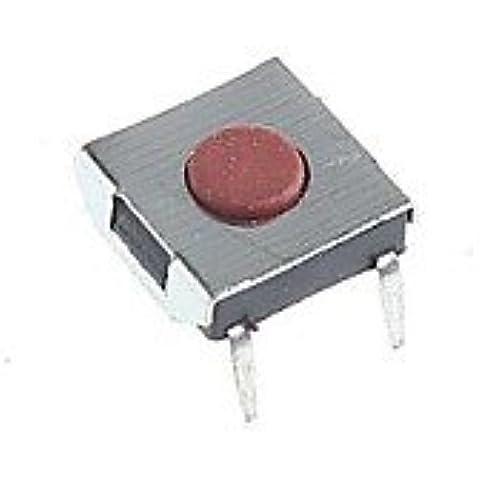 XMQC* 4 pines pulsador táctil tacto DIY 6x6x2.5mm (20pcs)