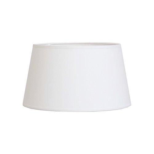 Abat-jour du Moulin CTBTTKAZA3510 Abat-jour lampe KAZA Ø35 en Polycoton coloris Blanc bague E27 Fabriqué en FRANCE Texture/Structure métalique époxy