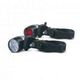 LUMiLiFE LED Clip Front and Rear Bike Light