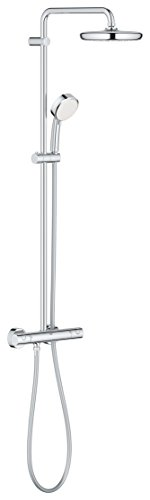 Grohe Tempesta Cosmopolitan System 210 - Sistema de ducha con termostato incorporado Ref. 27922001