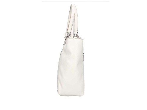 5x28x40 Schultertasche Hobo Damen centimeters White 12 Weiß 5 Bags Guess 6qA4wZHT6