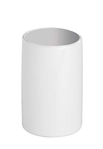 Wenko 19297100 Polaris Gobelet à Brosse à Dents Céramique Blanc 7 x 7 x 7,5 cm
