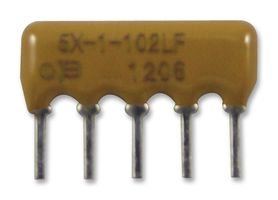 RESISTOR, NETWORK, 5 PIN, 10K, 2% 4605X-101-103LF By BOURNS -