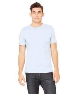 Unisex Jersey Short-Sleeve T-Shirt BABY BLUE M (Baby Ash T-shirt)