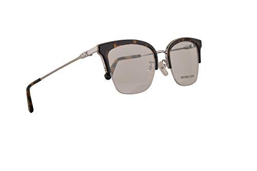 Michael Kors MK3029 Costa Rica Eyeglasses 51-19-140 Shiny Silver w/Demo Clear Lens 1153 MK 3029