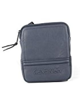 Calvin Klein Jeans Herren Speed Mini Flat Umhängetaschen, 20x18x3 cm