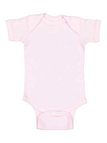 Infant Baby Rib Bodysuit BALLERINA NB Rosa Rib-infant Bodysuit