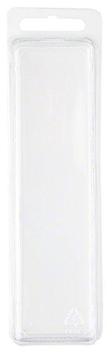 Klar Kunststoff Clamshell Paket/Container, 14cm H x 3,8cm W x 3,2cm D