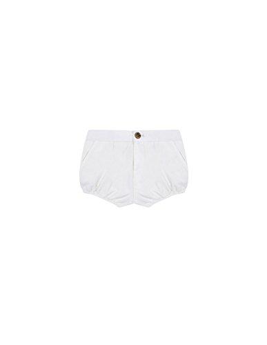Gocco S86PSTCA202 Pantalones, Marfil (Crudo), 6 Meses para Bebés