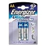 E2 Photo Lithium Batteries - AA 2-Pack-1.5 Volts