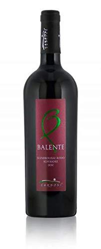 6 x 0.75 l - Balente Superiore è un vino rosso sardo Mandrolisai doc, prodotto dalla Cantina Carboni a Ortueri (NU).