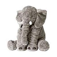 Animals pillow Grey Elephant Stuffed Plush Pillow Pals Cushion Plush Toy Cute Baby Pillow Cushion for Children